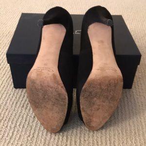Oscar de la Renta Shoes - Satin wedge heels